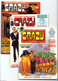 Bronze Age (1970-1979):Humor, Crazy Magazine Group (Marvel, 1973-78) Condition: Average FN. Thisgroup consists of 21 comics: #1, 2, 3, 4, 5, 6, 7, 8, 9, ... (21Comic Books)