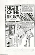 Original Comic Art:Complete Story, Frank Bolle, Al McWilliams, Jose Delbo, Giorgio Cambiotti, and JackSparling - Starstream #2 Complete Story, Group of 6 Origin...