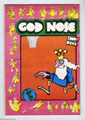 "Silver Age (1956-1969):Alternative/Underground, God Nose #nn (Jack Jackson) Condition: VG+. Pink cover version(second printing). Classic Underground by ""Jaxon"". Listed in ..."