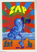 Silver Age (1956-1969):Alternative/Underground, Zap Comix #4 (Apex Novelties, 1969) Condition: VG+. A nice-lookingearly 50¢ edition of this infamous issue. Robert Crumb, V...