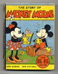 Platinum Age (1897-1937):Miscellaneous, Mickey Mouse (The Story Of) Big Big Book #4062A (Whitman, 1935) Condition: FR. Floyd Gottfredson art. Binding loose at hinge...