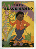 Books, Little Black Sambo (Harter Publishing Company, 1931) Condition: FR/GD. Written by Helen Bannerman, illustrated by Fern Bisel...
