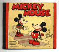 """Platinum Age (1897-1937):Miscellaneous, Mickey Mouse #948 (Whitman, 1933) Condition: Apparent VG. Reprints1932 and 1933 Sunday strips in color, including the """"Lair..."""