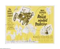 """The Absent Minded Professor (Buena Vista, 1961). Half Sheet (22"""" X 28""""). Offered here is a vintage, theater-us..."""