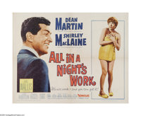 "All in a Night's Work (Paramount, 1961). Half Sheet (22"" X 28""). Offered here is a vintage, theater-used poste..."
