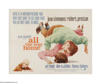"All the Way Home (Paramount, 1963). Half Sheet (22"" X 28""). Offered here is a vintage, theater-used poster for..."