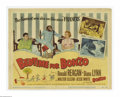 """Movie Posters:Comedy, Bedtime for Bonzo (Universal, 1951). Title Lobby Card (11"""" X 14""""). Offered here is a vintage, theater-used poster for this c..."""