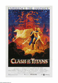 "Clash of the Titans (MGM, 1981). One Sheet (27"" X 41""). Offered here is a vintage, theater-used poster for thi..."