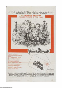 "Dear Brigitte (20th Century Fox, 1965). One Sheet (27"" X 41""). Offered here is a vintage, theater-used poster..."