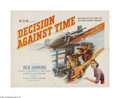"""Movie Posters:Drama, Decision Against Time (MGM, 1957). Half Sheet (22"""" X 28""""). Offered here is a folded, vintage, theater-used poster for this s..."""