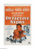"""Movie Posters:Crime, The Detective Story (Paramount, 1951). One Sheet (27"""" X 41""""). Thisis a linen backed, vintage, theater-used poster for this ..."""