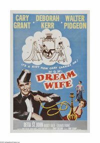 """Dream Wife (MGM, R-1962). One Sheet (27"""" X 41""""). Offered here is a vintage, theater-used poster for this roman..."""