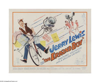 """The Errand Boy (Paramount, 1961). Half Sheet (22"""" X 28""""). Offered here is a vintage, theater-used poster for t..."""