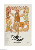 """Movie Posters:Musical, Fiddler on the Roof (United Artists, 1972). One Sheet (27"""" X 41""""). Offered here is a vintage, theater-used poster for this m..."""