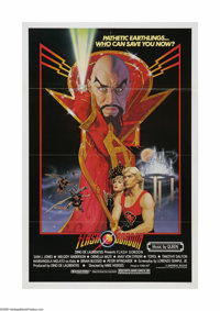 "Flash Gordon (20th Century Fox, 1980). One Sheet (27"" X 41""). Offered here is a vintage, theater-used poster f..."