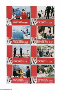 """For Your Eyes Only (United Artists, 1981). Lobby Card Set of 8 (11"""" X 14""""). Offered here is a vintage, theater..."""