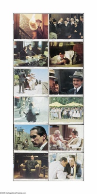 "The Godfather Part II (Paramount, 1974). Mini Lobby Card Set of 12 (8"" X 10""). Offered here is a vintage, thea..."