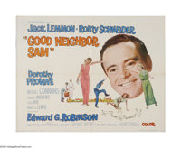 "Good Neighbor Sam (Columbia, 1964). Half Sheet (22"" X 28""). Offered here is a folded, vintage, theater-used po..."
