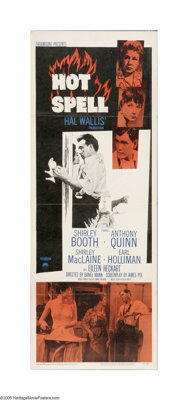 "Hot Spell (Paramount, 1958). Insert (14"" X 36""). Offered here is a folded, vintage, theater-used poster for th..."