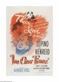 """In Our Time (Warner Brothers, 1944). One Sheet (27"""" X 41""""). This is a vintage, theater-used poster for this dr..."""