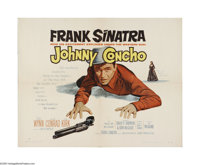 "Johnny Concho (United Artists, 1956). Half Sheet (22"" X 28""). Offered here is a vintage, theater-used poster f..."