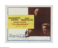 "The Journey (MGM, 1959). Half Sheet (22"" X 28""). Offered here is a folded, vintage, theater-used poster for th..."