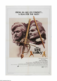 """The Last Valley (Cinerama Releasing, 1971). One Sheet (27"""" X 41"""") Style B. Offered here is a vintage, theater-..."""