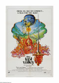 "Movie Posters:Adventure, The Last Valley (Cinerama Releasing, 1971). One Sheet (27"" X 41"").Offered here is a vintage, theater-used poster for this h..."