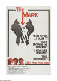 "The Mark (Continental, 1961). One Sheet (27"" X 41""). Offered here is a vintage, theater-used poster for this t..."