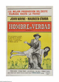 """Movie Posters:Western, McLintock! (United Artists, 1963). Argentinian One Sheet (29"""" X 43""""). Offered here is a vintage, theater-used poster for thi..."""
