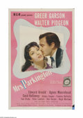 """Movie Posters:Drama, Mrs. Parkington (MGM, 1944). One Sheet (27"""" X 41""""). Offered here is a vintage, theater-used poster for this romantic drama t..."""