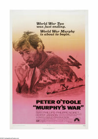 """Murphy's War (Paramount, 1971). One Sheet (27"""" X 41""""). Offered here is a vintage, theater-used poster for this..."""