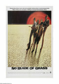 "Movie Posters:Drama, No Blade of Grass (MGM, 1971). One Sheet (27"" X 41""). Offered here is a vintage, theater-used poster for this post-apocalyps..."