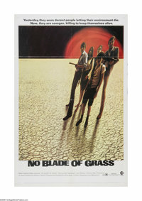 """No Blade of Grass (MGM, 1971). One Sheet (27"""" X 41""""). Offered here is a vintage, theater-used poster for this..."""