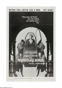 "The Premature Burial (American International, 1962). One Sheet (27"" X 41""). Offered here is a vintage, theater..."