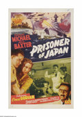 """Movie Posters:War, Prisoner of Japan (PRC, 1942). One Sheet (27"""" X 41""""). Offered hereis a vintage, theater-used poster for this war adventure ..."""