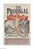 "Movie Posters:Drama, The Prodigal (MGM, 1955). One Sheet (27"" X 41""). Offered here is a vintage, theater-used poster for this Biblical drama that..."