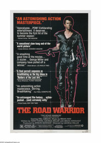 "The Road Warrior (Warner Brothers, 1982). One Sheet (27"" X 41""). Offered here is a vintage, theater-used poste..."