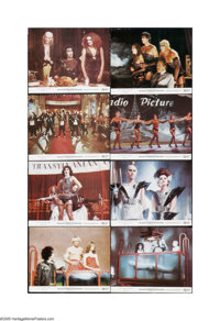 "The Rocky Horror Picture Show (20th Century Fox, 1975). Mini Lobby Card Set of 8 (8"" X 10""). Offered here is a..."