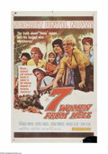 "Movie Posters:Drama, 7 Women From Hell (20th Century Fox, 1961). One Sheet (27"" X 41""). Offered here is a vintage, theater-used poster for this w..."