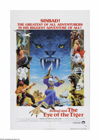"Sinbad and the Eye of the Tiger (Columbia, 1977). One Sheet (27"" X 41""). Offered here is a vintage, theater-us..."