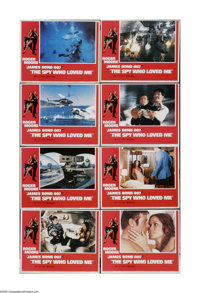 "The Spy Who Loved Me (United Artists, 1976). Lobby Card Set of 8 (11"" X 14""). Offered here is a vintage, theat..."