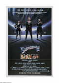 """Movie Posters:Fantasy, Superman II (Warner Brothers, 1980). One Sheet (27"""" X 41""""). Offered here is a vintage, theater-used poster for this comic bo..."""