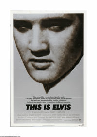 "This Is Elvis (Warner Brothers, 1981). One Sheet (27"" X 41""). Offered here is a vintage, theater-used poster f..."