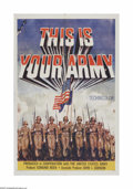 "Movie Posters:War, This is Your Army (20th Century Fox, 1954). One Sheet (27"" X 41"").Offered here is a vintage, theater-used poster for this p..."