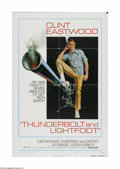"""Movie Posters:Crime, Thunderbolt and Lightfoot (United Artists, 1974). One Sheet (27"""" X 41""""). Offered here is a vintage, theater-used poster for ..."""