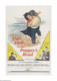 """The View From Pompey's Head (20th Century Fox, 1955). One Sheet (27"""" X 41""""). Offered here is a vintage, theate..."""