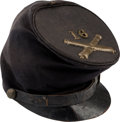 Militaria:Uniforms, Enlisted McDowell Cap from the 16th Massachusetts Artillery....