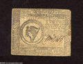 Colonial Notes:Continental Congress Issues, Continental Currency May 9, 1776 $8 Very Good-Fine. Severalpinholes dot this note issued two months before the Declaration ...