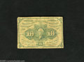 Fractional Currency:First Issue, Two Fr. 1242 10c First Issue Fine-Very Fine. An attractive Fr. 1242 coupled with a not so attractive Fr. 1242.... (2 notes)